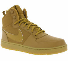 Nike Court Borough Mid Winter Shoes Men's Sneakers Winter Shoes Padded Brown