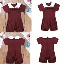 Infant Newborn BABY Romper Jumpsuit Bodysuit Kid Girl Clothes Outfits Sunsuit