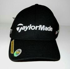 New TaylorMade Black Adjustable Tour Headwear Burner R 11 Golf Baseball Hat Cap