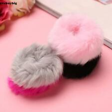 Fashion Fluffy Faux Fur Furry Scrunchie Elastic Hair Ring Rope Band EE6 02