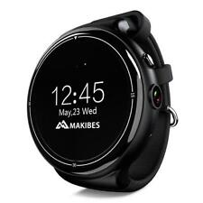 Makibes I4 AIR 3G Android 5 Smart watch Phone 2.0MP Camera GPS Google Now 2G+16G