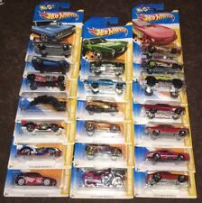 HOT WHEELS 2011 NEW MODELS, 2012 NEW MODELS  BIN 24