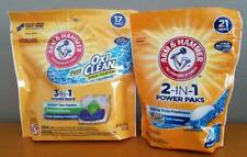 Arm & Hammer Oxi Clean Power Packs Cleaning Detergents
