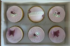 Edible Fondant Mothers Day Easter Cupcake Cake Topper Decoration