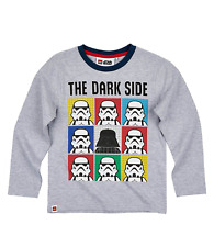 BNWT LEGO STAR WARS LONG SLEEVED TOP YOU PICK 4-8 YEARS