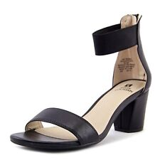 White Mountain Womens Elinie Fabric Open Toe Casual Ankle Strap Sandals