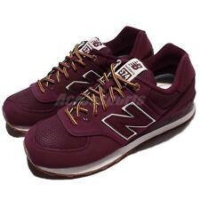 New Balance ML574HRA D Red Beige Suede Men Casual Shoes Sneakers ML574HRAD