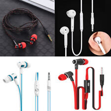 New Stereo In-Ear bass Earbud Earphone Headset with Mic 3.5mm for iphone HTC NE