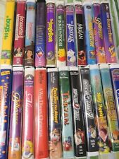 VHS DISNEY Movies Pick From List  SALE - Huge Lot