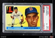 1955 Topps #207 Billy Consolo Red Sox PSA 6 - EX/MT