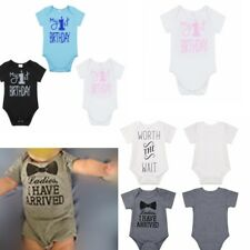 Newborn Kids Baby Boys Short Sleeves Outfits Jumpsuit Romper Bodysuit Clothes