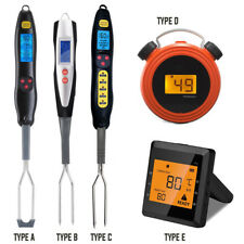 DIGITAL COOKING FOOD MEAT STAB DRINK PROBE THERMOMETER KITCHEN BBQ TEMPERATURE
