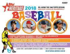 2018 Topps Heritage High Numbers Short Print Baseball Cards You Pick From List