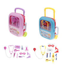 MagiDeal Simulation Medical Kit Kids Doctor Role Play Set Carry Case Toy Gift