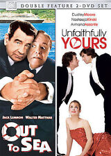 OUT TO SEA/UNFAITHFULLY YOURS (1984) NEW DVD