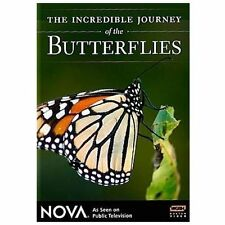 The Incredible Journey of the Butterflies New DVD! Ships Fast!