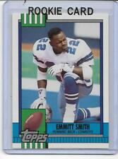 EMMITT SMITH 1990 TOPPS MINT RC ROOKIE CARD DALLAS COWBOYS