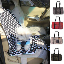 Pet Dog Cat Portable Travel Carrier Tote Cage Bag Crates Kennel Car Seat Mat