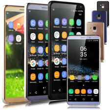 """Unlocked Luxury 5.8"""" Cell Phone Android 7.0 AT&T Quad Core Dual SIM Smartphone"""