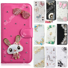Case Glitter Rhinestone Leather Cover For Nokia Crystal Wallet Phone Cases Skin