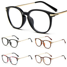 Unisex Clear Lens Glasses Retro Fashion Nerd Geek Eyewear Eyeglasses Women Men