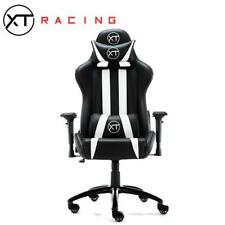 Gaming Chair XTRacing EVO Recliner Racing GT Esports Desk Seat Omega White