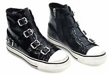 ASH WOMAN CASUAL SNEAKER SHOES PATENT LEATHER CODE FW17-V-115401-003 VIRGIN
