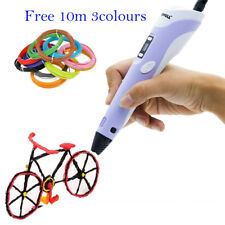 2nd 3D LCD Printing Pen Crafting Doodle Drawing Arts Printer Modeling PLA/ABS