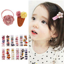 MagiDeal 5Pcs/set Hairpin Baby Girl Hair Clip Flower Mini Barrettes Rope Kids