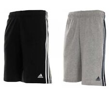 Mens Adidas Originals 3 Stripes Essential Shorts Gym Running Fitness Climalite