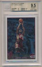 LEBRON JAMES 2003/04 TOPPS CHROME #111 RC ROOKIE CAVALIERS SP BGS 9.5 GEM MINT