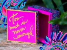 NEW Lilly Pulitzer JEWELRY Trinket Lacquer BOX Multi Psychedelic Sunshine Print
