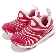 Nike Dynamo Free PS Pink White Preschool Girls Running Shoes Sneakers 343738-626