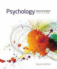 Cengage Advantage Books: Psychology : Themes and Variations, Briefer Version...
