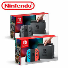 Nintendo Switch 32GB  Console with Neon Red/Neon Blue or Grey Joy-Con
