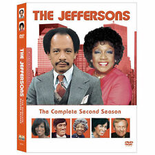 The Jeffersons - The Complete Second Season (DVD, 2003, 3-Disc Set) New & Sealed