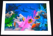 27 X 38 Vivid Splendor by DAVID MILLER LITHOGRAPH LIMITED EDITION Signed