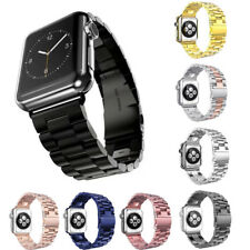 38mm 42mm iWatch Stainless Steel Bracelet Link Band Strap For Apple Watch 3 2 1