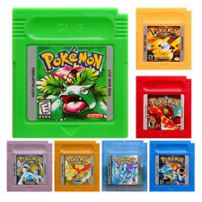 7 Colors Game Card Carts GBC Game Boy Nintendo Pokemon Color Version Cartridge