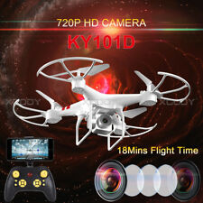 KY101D Wifi FPV Drone with 720P HD Camera 2.4Ghz 4CH RC Quadcopter Altitude Hold
