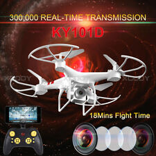 0.3MP WIFI HD Camera FPV 2.4G 4CH RC Drone Quadcopter Altitude Hold 18 mins Fly