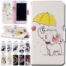 For Xiaomi Redmi Note 5A/Redmi Y1 Stand Card PU Leather Case Cover Luxury Skin