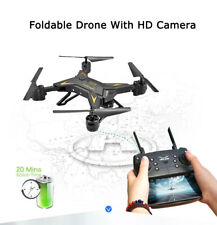 Foldable WIFI FPV RC Quadcopter Drone with 0.3MP HD Camera Selfie Drone Headless