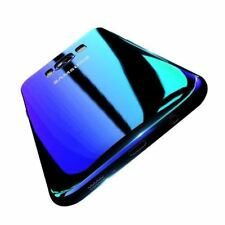 Blue Ray Gradient Phone Case For Samsung S8 S9 Plus Hard Case Cover For Samsung