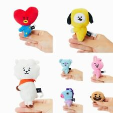 BTS BT21 Official Merchandise by Line Friends Character Plush Doll Magnet