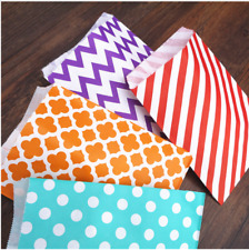 Paper Gifts Bags Mini Colorful Candy Cookies Popcorn Bag Paper Craft Xmas Tools