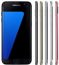 Samsung Galaxy S7 Edge - 32GB Unlocked Smartphone Black Blue Gold Silver White