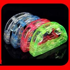 4 color Light Up Musical Tambourine Flashing LED Blinking Toy Favor