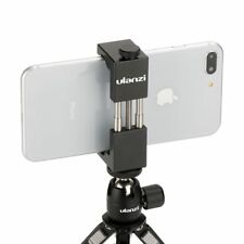 Cell Phone Tripod Mount Adapter Holder Clip Clamp For Iphone Samsung Huawei