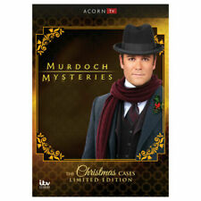 Murdoch Mysteries: Christmas Cases Collection New DVD! Ships Fast!